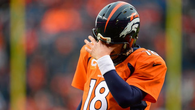 Peyton Manning has a strained quadricep is, which is a partially torn muscle, according to Stephen Kollias, an orthopaedic surgeon at OrthoIndy and the Indiana Orthopaedic Hospital.