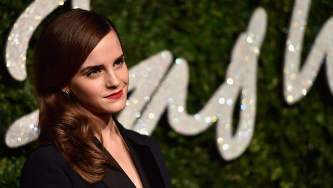 Emma Watson at the British Fashion Awards in London on Dec. 1, 2014.