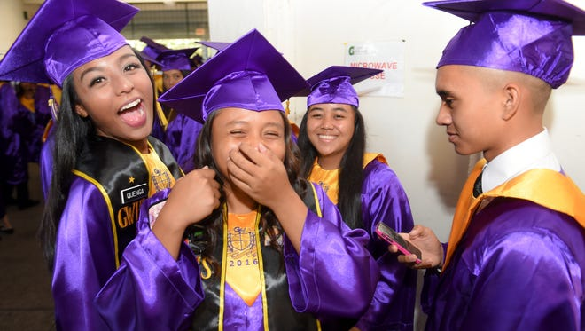 George Washington High School graduated 340 Geckos at the 2016 Commencement Exercise at The University of Guam Calvo Field House on May 24.