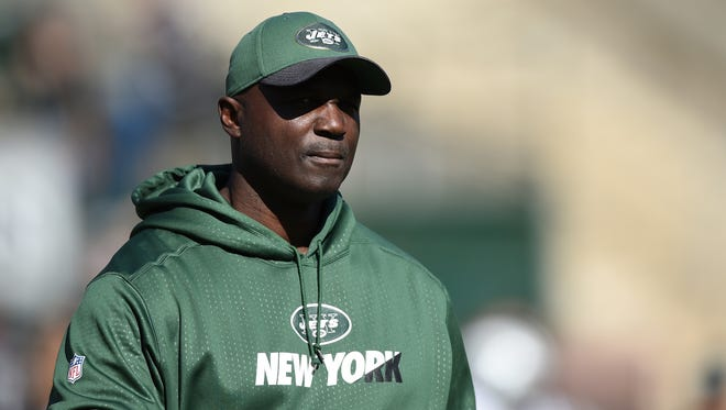 Head coach Todd Bowles of the New York Jets.