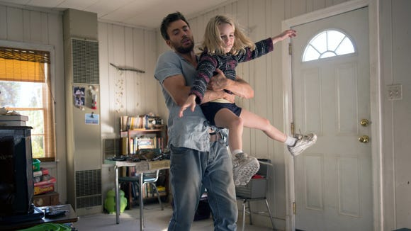 Mckenna Grace and Chris Evans in 'Gifted.'