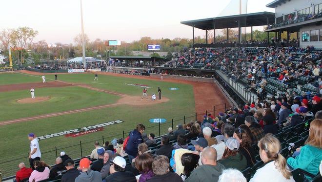 Jimmy John's Field in Utica hosts a Bloomfield Township Night Saturday, Sept. 8.