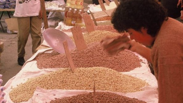 Dozens of varieties of dry beans vie for attention