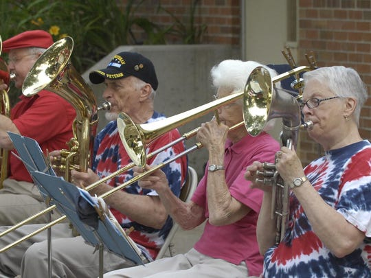 The Grenadier Band will perform a patriotic concert