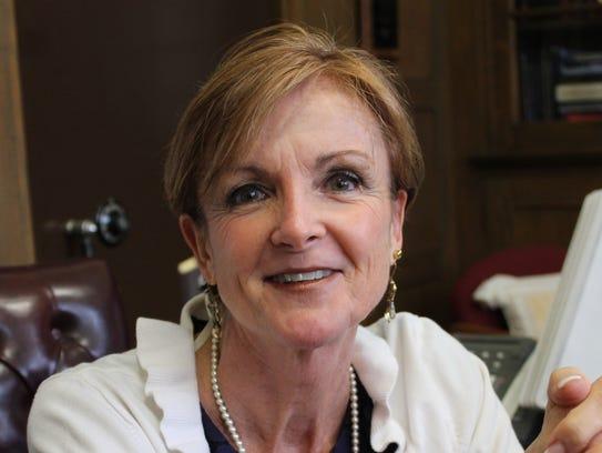 Dobbs Ferry school Superintendent Lisa Brady came to
