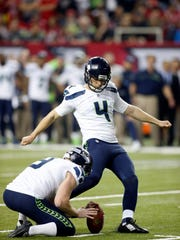 The Bills new placekicker is strong-legged Steven Hauschka.