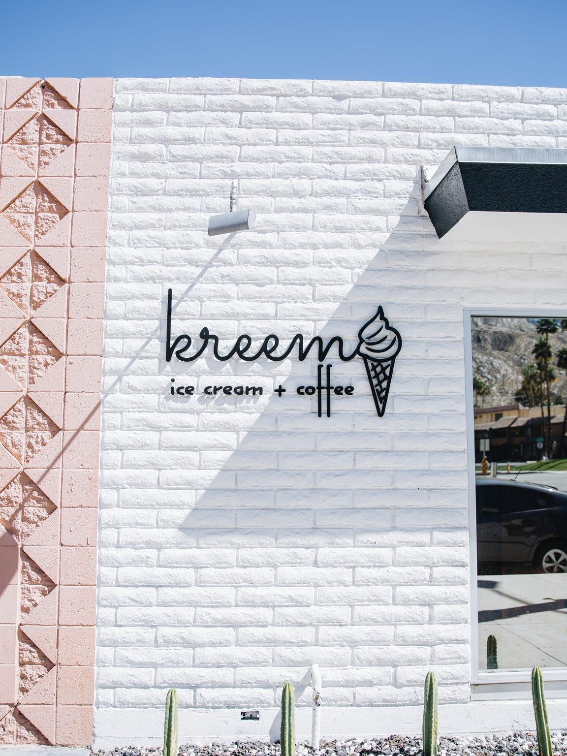 Kreem opens in Palm Springs Friday, and will offer gourmet coffee and ice cream.