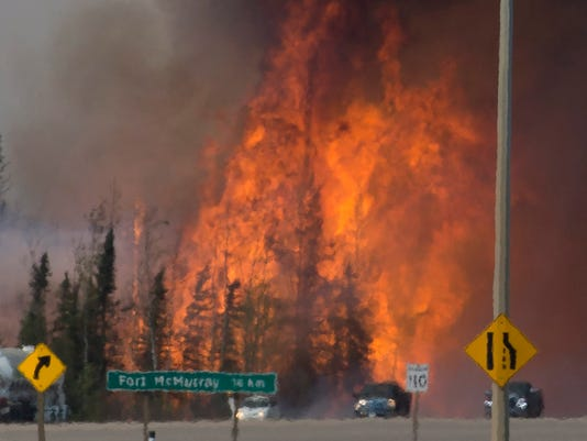 AP CANADA WILDFIRE I WEA CAN