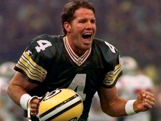 Brett Favre threw for 929 yards against the Lions on Thanksgiving.