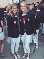 The Ralph Lauren outfits for Team USA were absolutely perfect! Don't we look fly?