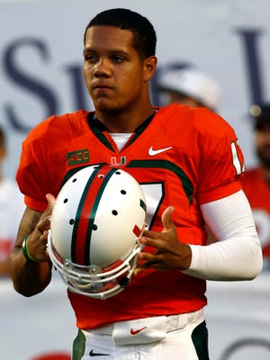 Miami quarterback Stephen Morris is expected to play on Saturday despite suffering a lower right leg injury.