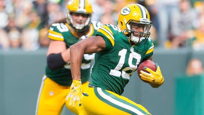 Pro Bowl WR Randall Cobb can also make an impact on special teams.
