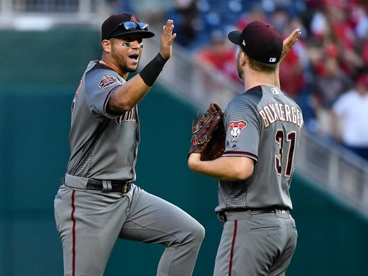 USP MLB: ARIZONA DIAMONDBACKS AT WASHINGTON NATION S BBN WAS ARI USA DC