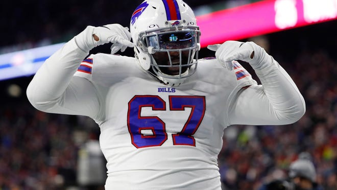 Petersburg alum Quinton Spain is back for a sixth NFL season after starting every game for the Buffalo Bills in 2019.