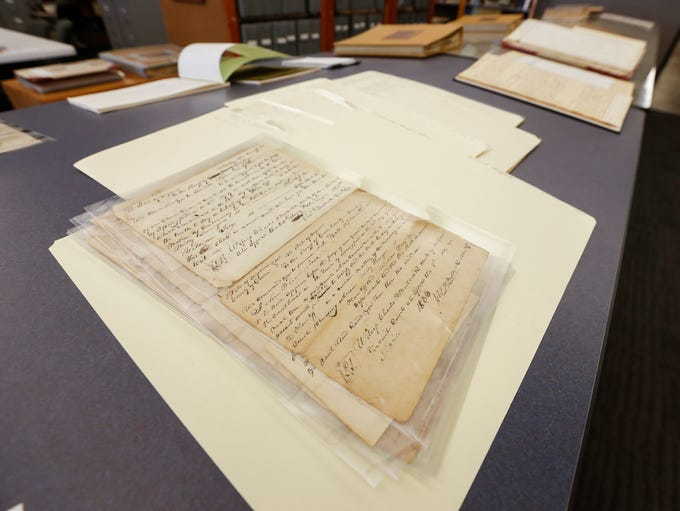 Documents from the Greene County Archive that tell