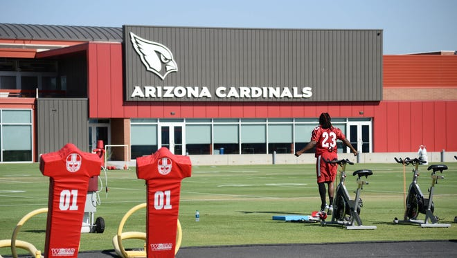 The Cardinals enter training camp ranked No. 1 in USA TODAY Sports' NFL power rankings.