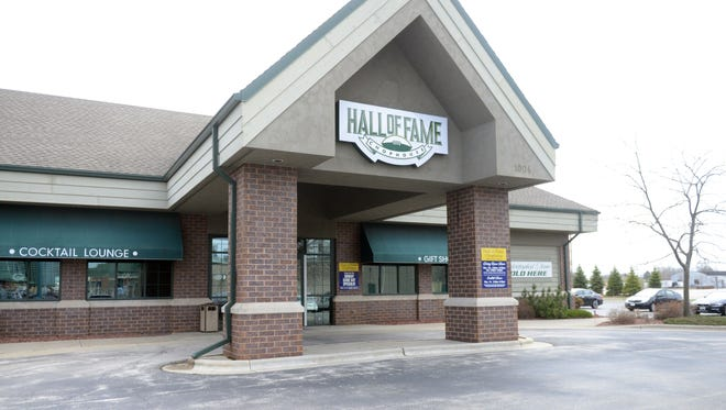 Hall of Fame Chophouse, 1004 Brett Favre Pass in Green Bay.