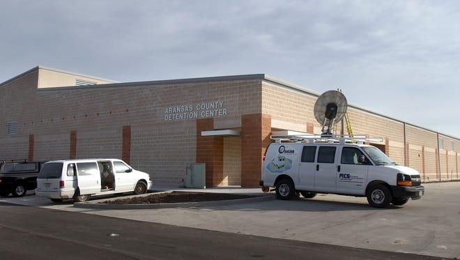 Aransas County Detention Center in Rockport.