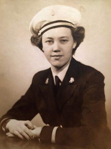Alice Miller, 95, of Old Fort served in the Navy Nurse