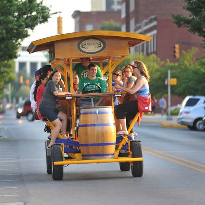 'Pedal pubs' could face regulations on Indy streets