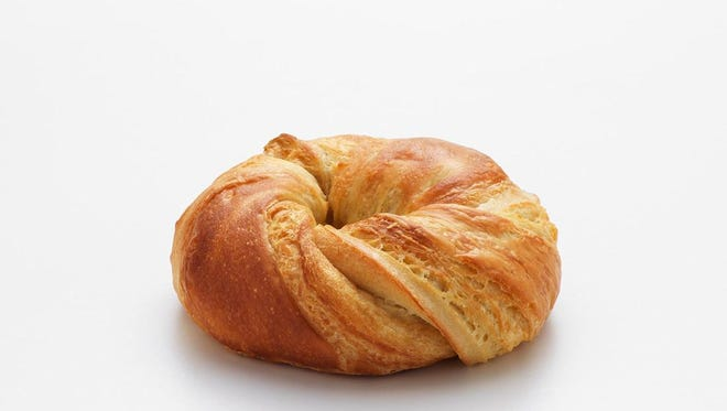 Dunkin' Donuts' new croissant bagel will be available Aug. 1 in Monmouth and Ocean counties.