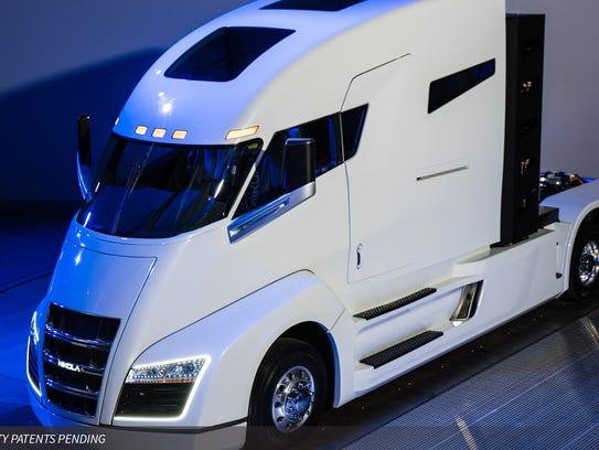 Nikola Motor Company's Nikola One, one of the truck