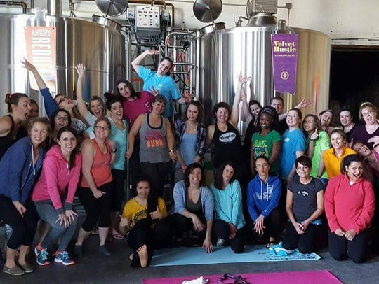 Lacy Welker hosts Yoga and Beer at 1 p.m. every other