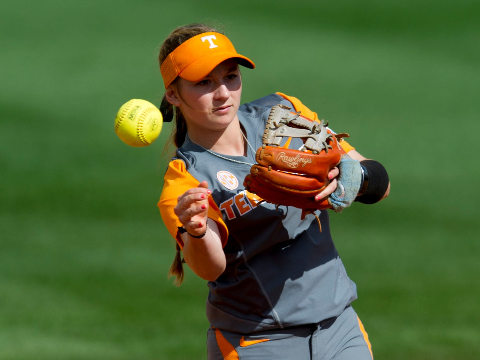 "Tennessee's Aubrey Leach says she wishes her grandmother ""could be here now to give me pointers and just see how the game has evolved more and more."""