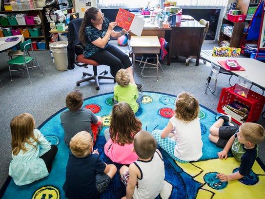 Kindergarten teacher at Cowan Elementary School Chelsie
