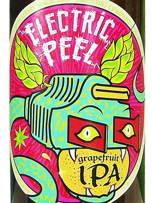Beer Man Electric Peel-Print