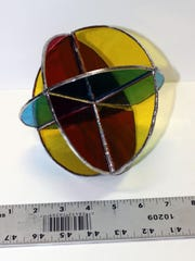 """""""3-D Color Wheel"""" is a three-dimensional creation completed"""