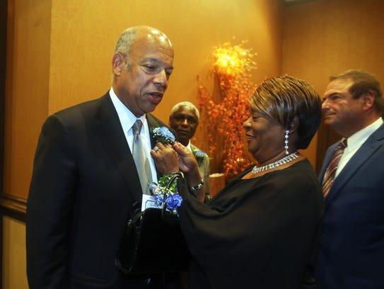 Vivian Boone, a member of the Northern Dutchess NAACP,