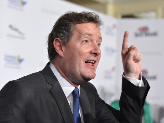 """FILE - FEBRUARY 24: CNN Cancel Piers Morgan's Prime Time TV Talk Show  BEVERLY HILLS, CA - MAY 04:  TV host Piers Morgan arrives to BritWeek 2012's """"Evening with Piers Morgan"""" on May 4, 2012 in Beverly Hills, California.  (Photo by Alberto E. Rodriguez/Getty Images)"""