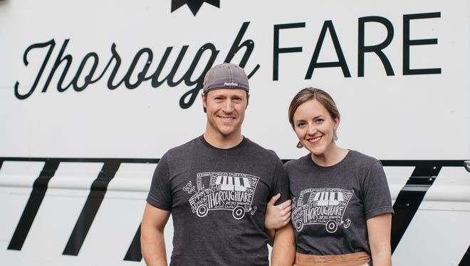 Neil and Jessica Barley, of Thoroughfare are competing for a chance to win $25,000 in the Thomas' Breakfast Battle: Food Truck Edition.