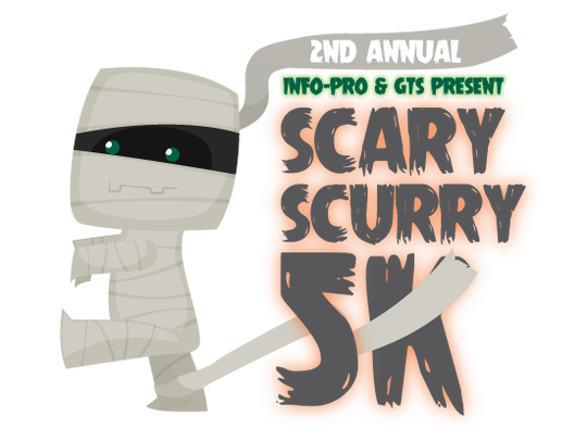 Second Annual Scary Scurry 5K logo.