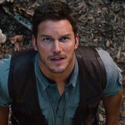Chris Pratt in 'Jurassic World.'