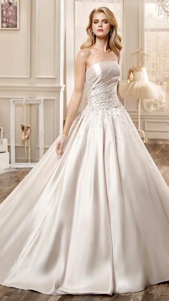 Wedding Dress Full Skirt