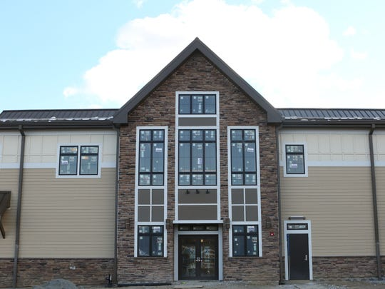 Exterior of The West Milford Township Library and Community Center. The library is scheduled to open in March.