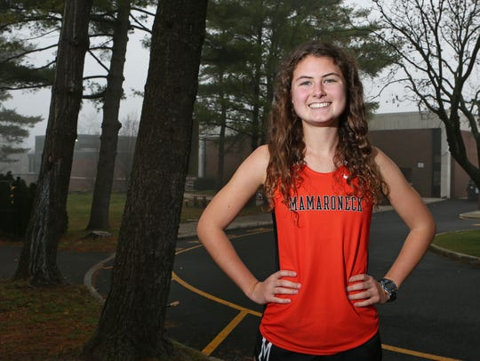 Lauren Chapey was a star runner at Mamaroneck, who was recruited by Stanford, Georgetown, Harvard, Princeton, BC and more, including Yale, the college she chose. She ran multiple times against Katleyn Tuohy when Tuohy was an eighth-grader and Chapey was a senior. Chapey won once. She'll treasures that win, in part because she thinks Tuohy will be an Olympian.