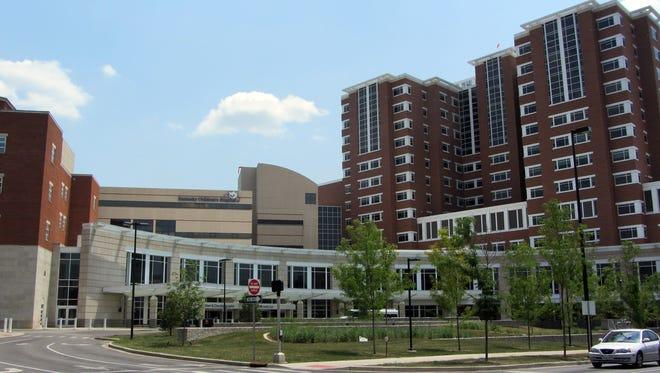 UK Medical Center on UK's campus in Lexington in 2012.
