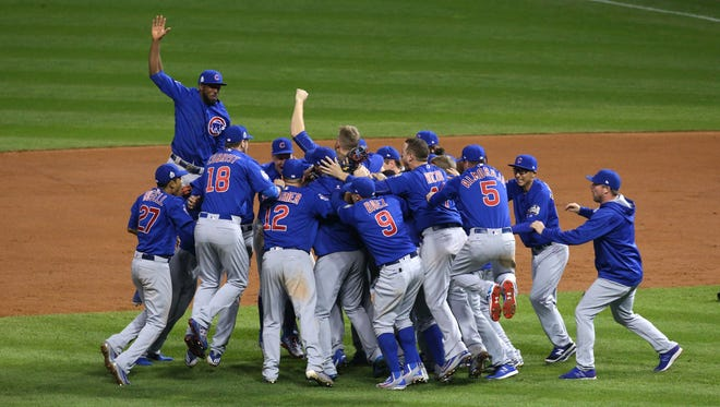 The Chicago Cubs celebrate their World Series win, but the franchise's long-suffering fans might have been even happier.