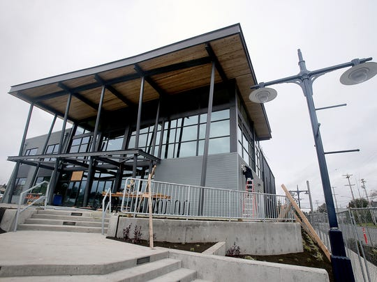 The Marvin Williams Recreation Center at Eighth Street and Park Avenue in Bremerton.