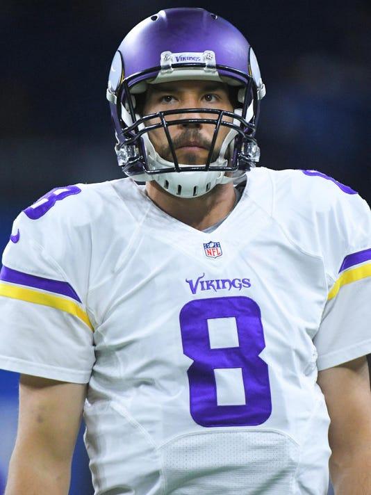 new arrival 76b52 df523 Minnesota Vikings plan to bring back Sam Bradford for 2017 ...