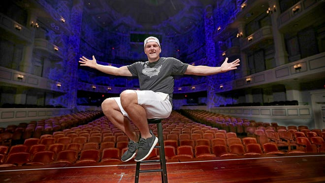 Indianapolis Colts punter Pat McAfee will be in the spotlight this weekend as he preforms his live comedy show at the Palladium in Carmel.