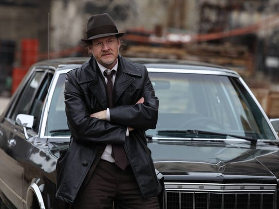 "Donal Logue in a scene from ""Gotham,"" a show columnist"