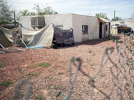 Casa en surprise donde vivía la pequeña Alexandra.