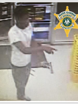 Armed robbery suspect, July 12