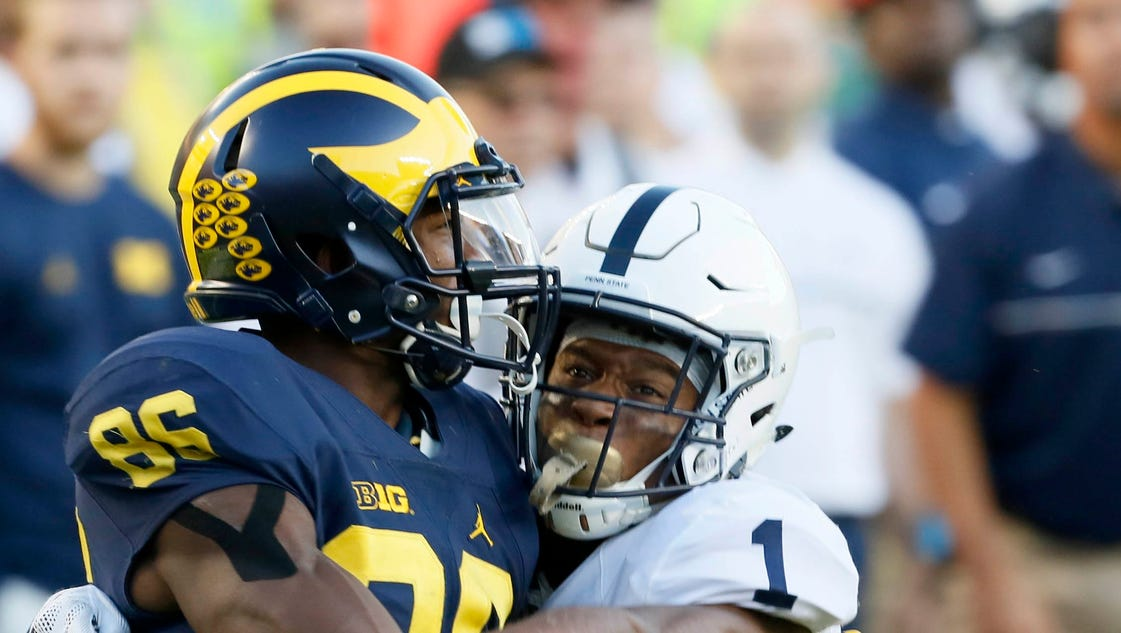 The Michigan football team s weekend off apparently hurt its perception.  U-M was passed by Big Ten champion Penn State in the final pre-bowl  Associated ... ab8c025b7a36