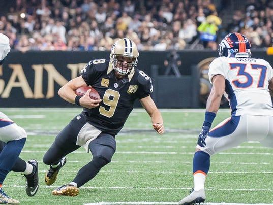 Denver Broncos vs New Orleans Saints                   November 13, 2016