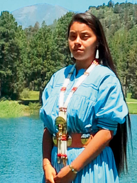 Mescalero maiden Bobbie Jo Lester celebrates her coming of age ceremony this weekend.